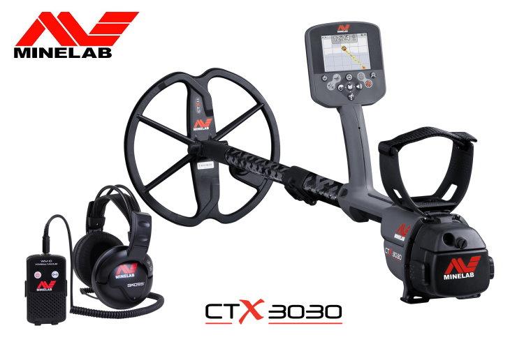 Metalldetektor Minelab CTX3030
