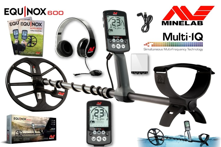 Minelab Equinox 600 Metalldetektor