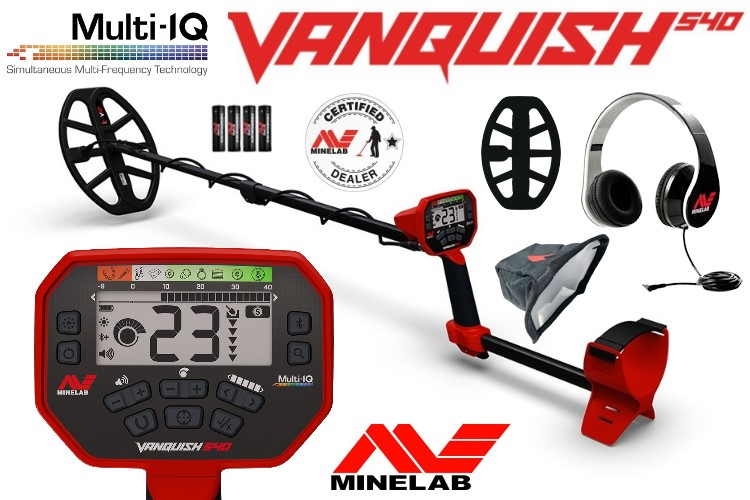 Metalldetektor Minelab Vanquish 540