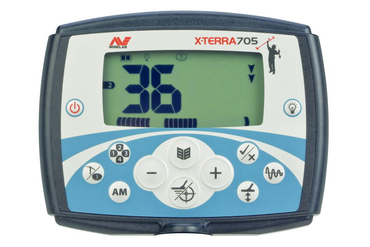 Metalldetektor Minelab X-Terra 705